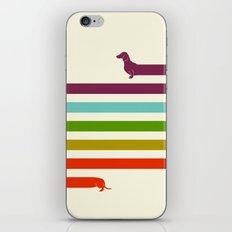 (Very) Long Dachshund iPhone Skin