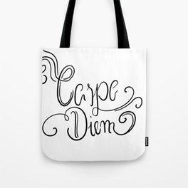 Carpe Diem - Nutze die Zeit Tote Bag