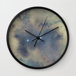 Twin Stars Wall Clock