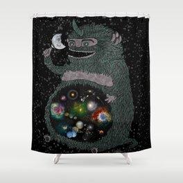 Space Junkie Shower Curtain