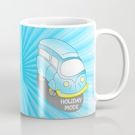 Road Trip Blue Van Coffee Mug