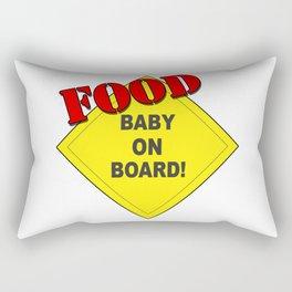 Food Baby Rectangular Pillow