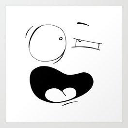 Udi (Two) Art Print