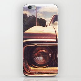 Rusty And Blue - America As Album Art iPhone Skin