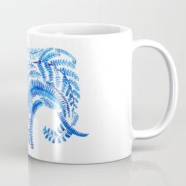 blue elephant watercolor Coffee Mug