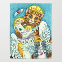 PURRS IN HEAVEN Poster