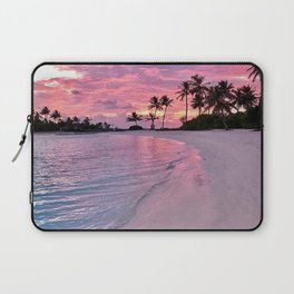 SUNSET AND PALM TREES Laptop Sleeve