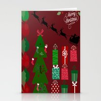 xmas Stationery Cards featuring Xmas by JuniqueStudio