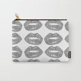 Doodle bitten lip pattern Carry-All Pouch