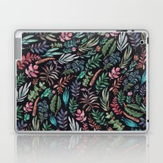 water color garden at nigth Laptop & iPad Skin