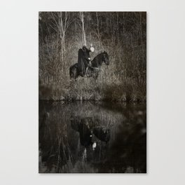 The Headless Horsemen Canvas Print