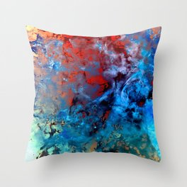 α Comae Berenices Throw Pillow