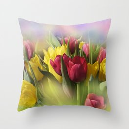 the beauty of a summerday -97- Throw Pillow