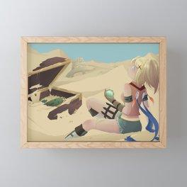 Rikku .  Final Fantasy X Framed Mini Art Print