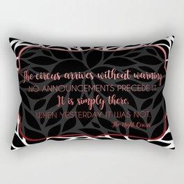The Night Circus Quote Rectangular Pillow