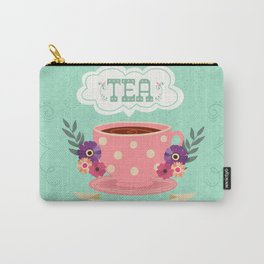 Tea Is A Hug In A Cup Carry-All Pouch