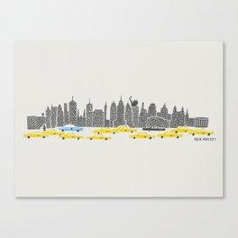 New York City Panoramic Canvas Print