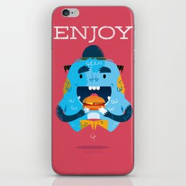 :::Enjoy Monster::: iPhone Skin
