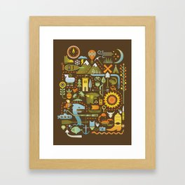 Treasure Chest Framed Art Print