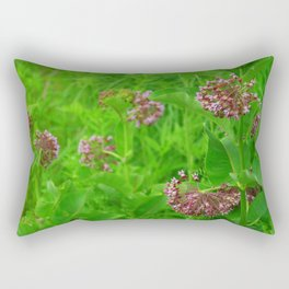 Garden Flowers Rectangular Pillow