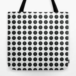 (Overworked) Guardian Angel Polka Dots Tote Bag