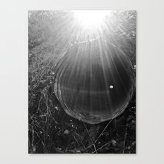 Piped Light Canvas Print
