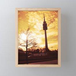 Fernsehturm München Framed Mini Art Print