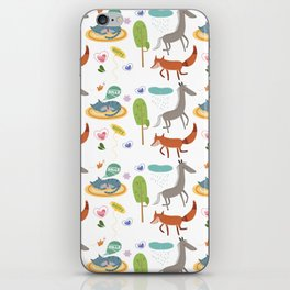 Happy animals iPhone Skin