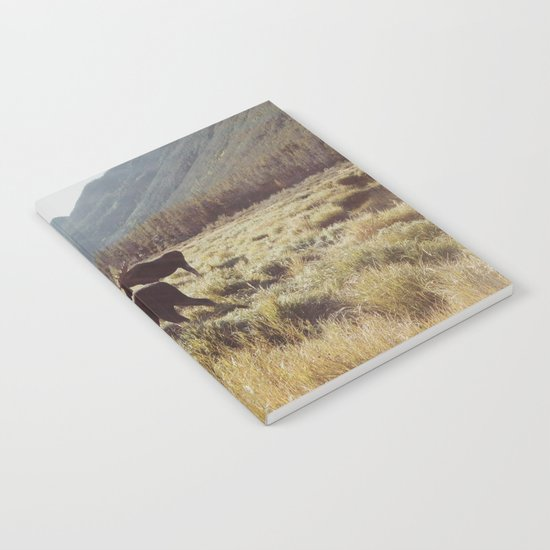 Three Meadow Moose Notebook
