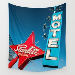 vegas stardust ! vintage starlite motel  Wall Tapestry