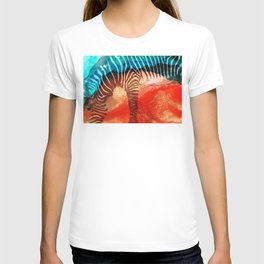 Zebra Love - Art By Sharon Cummings T-shirt