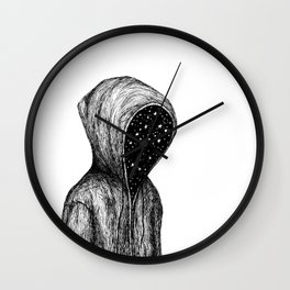 Someone who has too much to hide Wall Clock