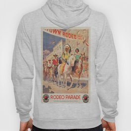 Vintage poster - Rodeo parade Hoody
