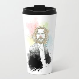 The Dude, His Dudeness, Duder, or El Duderino Travel Mug