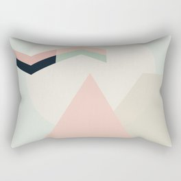I Dream In Pink Rectangular Pillow