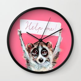 Loris need help Wall Clock