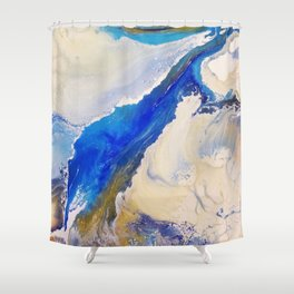 Everlasting Sandbar 2 Shower Curtain
