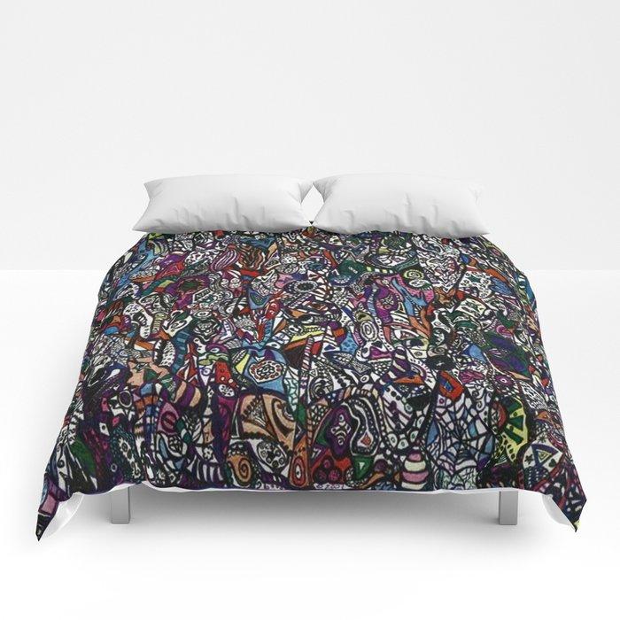 Spelunking Comforters