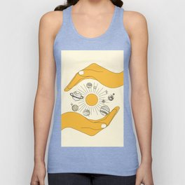 The Universe in Your Hands Unisex Tank Top
