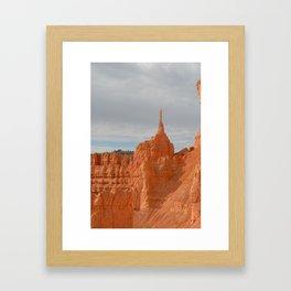 Pointy Hoodoo Framed Art Print