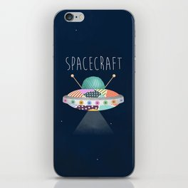 Spacecraft iPhone Skin