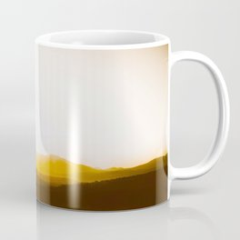 Sepia Sunset Coffee Mug