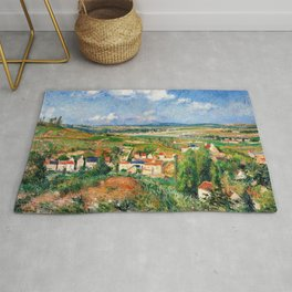 Camille Pissarro - L'hermitage In Summer, Pontoise - Digital Remastered Edition Rug