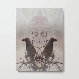 Hugin & Munin Metal Print