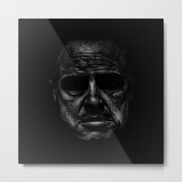 Godfather (B&W) Metal Print
