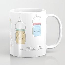 Frascos encadenados Coffee Mug