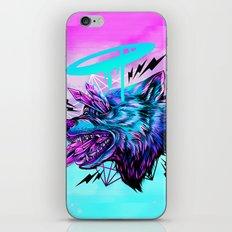 Crystal Wolf iPhone & iPod Skin