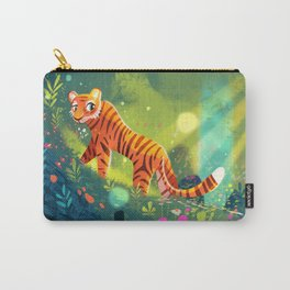Tiger in the Garden of Kings Carry-All Pouch