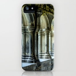 Askeaton Castle Cloisters iPhone Case