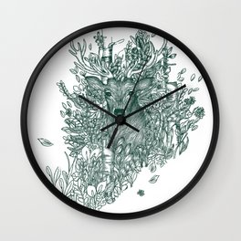 King of the Forest: The Stag Wall Clock